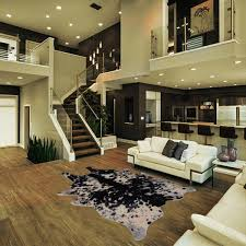 animal friendly furniture. Faux Animal Friendly Hide Rug In Black With White Animal Friendly Furniture
