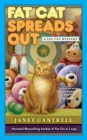 Bright Lights Big Kitty Poster Amazon Com Fat Cat Spreads Out A Fat Cat Mystery