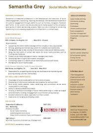 Ideas Of Exciting Sample Of Marketing Resume Excellent Free Resume