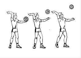 Реферат Волейбол com Банк рефератов сочинений   по дальней от сетки половине мяча ребром ладони так чтобы после удара он получил передне заднее вращение Подача эта выполняется на открытых площадках