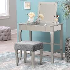 diy vanity table with mirror. vanity lighted mirror | girl hollywood mirrored diy table with