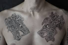 скандинавская татуировкатату рисунок эскиз русь славяне