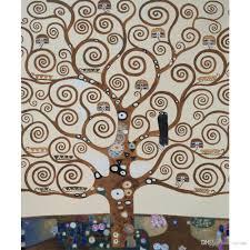 Acquista Landscapes Art Gustav Klimt Albero Della Vita Riproduzione Della  Pittura A Olio Su Tela Dipinto A Mano Decorazioni La Casa A 71,29 € Dal  Reeme