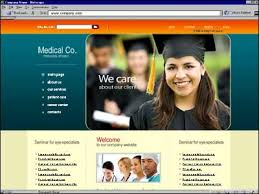 College Templates College Web Templates School Web Template Educational