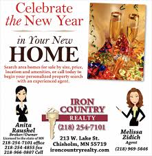 new year real estate flyers celebrate the new year in your new home iron country realty
