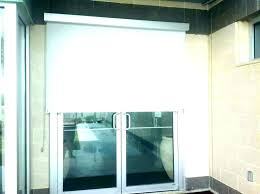 pull down curtains for shade door roller shades on sliding glass doors amaze roll patio