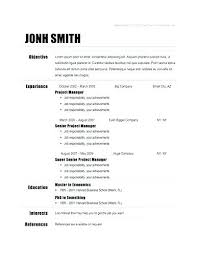 Easy Resume Examples Amazing Resume Examples Basic Hflser