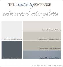 calming office colors. Calm Neutral Color Palette -- Paint For Office:craft Room From The Calming Office Colors