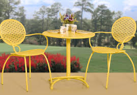 yellow outdoor furniture. yellow patio set chic simple outdoor furniture