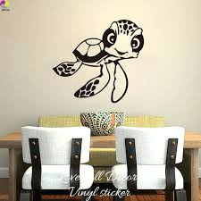 turtle wall decal sea turtle wall decal plus tribal tortoise wall stickers bathroom vinyl art mural