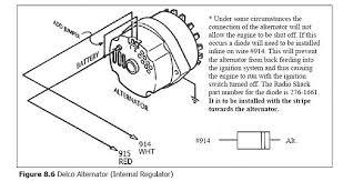 alternator wiring diagram chevy 350 wiring diagram and schematic 86 chevy alternator wiring diagram at Basic Chevy Alternator Wiring Diagram