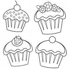 Small Picture cupcake coloring pages to print hello kitty cupcake coloring