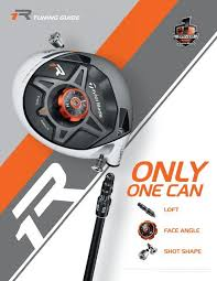 Taylormade R1 Driver Tuning Guide Golf Warehouse
