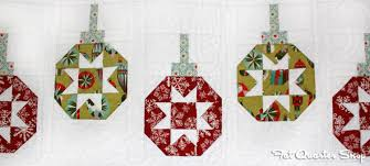 Deck-ade the Halls Archives - The Jolly Jabber Quilting Blog & Deck-ade the Halls: Vintage Ornaments Adamdwight.com