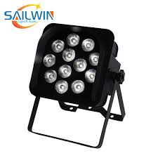 2019 China Sailwin 6in1 Rgbaw Uv V12 Battery Powered App Mobile Control Led Wireless Par Light Stage Use For Dj Disco Bar From Sailwinlight888