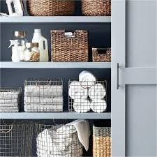 linen closet storage baskets 9 ways to organize your linen closet make you feel like linen