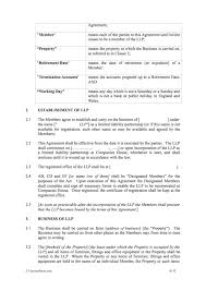 Downloadable limited partnership agreement template. Llp Agreement Limited Liability Partnership Agreement Contractstore