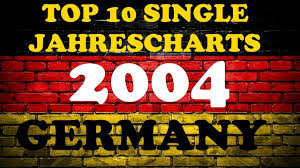 Top 10 Single Jahrescharts Deutschland 2004 Year End Single Charts Germany Chartexpress