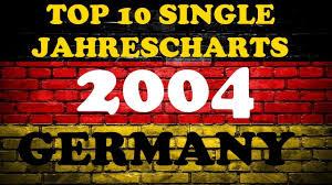 Charts Single Deutschland Top 10 Single Jahrescharts Deutschland 2004 Year End Single Charts Germany Chartexpress