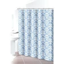 light blue shower curtains light blue tribal shower curtain light blue  ruffle shower curtain .