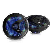 Waterproof Speaker With Lights Pyle Plmr6leb Marine And Waterproof Vehicle Speakers