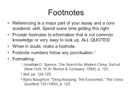 structure a basic structure not a straitjacket introduction 5 footnotes referencing
