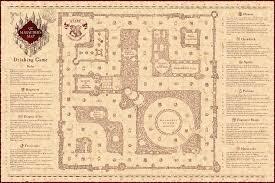 marauder's map drinking game  harrypotter