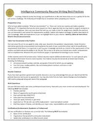Career Resources Intelligence Community Center For