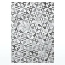 gray geometric rug by design grey pattern and white uk gray geometric rug sophisticated