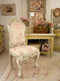miniature doll furniture. miniature doll chair in wood louis 15th shabby pink french toile de jouy furniture u