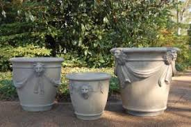 large cement planters. The Lion Planter Group Was Designed By Brookfield Co. Owners And Designers Hilda Jones John Cline. These Handcast, Durable Concrete Planters Are Large Cement