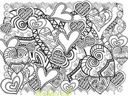 Abstract Doodle Art Coloring Pages Coloring