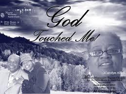 Rev. Dr. Clifton Rhodes, Jr. - Carolyn Allen - God Touched Me - YouTube