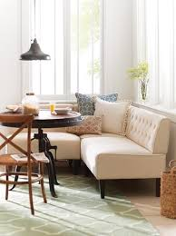 Easton Breakfast Nook upholstered banquette eat in kitchen