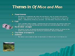 of mice and men theme and overview  28 themes in of mice and men