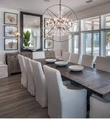 Classy And Luxurious Dining  Transitional Dining Room Inspo - Mirrors for dining rooms