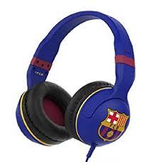 skullcandy hesh over ear wired headphones amazon co uk skullcandy hesh 2 0 over ear wired headphones in line microphone fc barcelona