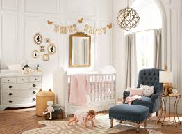 Pottery Barn Bedroom Curtains Pink And Gold Nursery