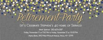 Retirement Invitations Free Party Invitations Free Printable Retirement Party