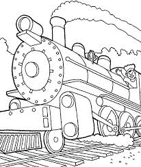 coloring pages steam train steam