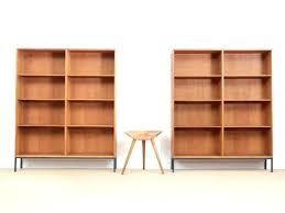 mid century modern bookshelf. Scandinavian Bookcase Mid Century Modern In Oak By For Bookshelves Style Bookshelf