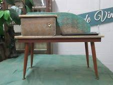 funky hall tables. Funky Vintage Retro Kitsch Telephone Hall Table Seat 1950\u0027s Bling Dansette Legs Tables
