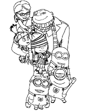 Minion coloring pages disney coloring pages coloring book pages free coloring coloring pages for kids coloring sheets kids coloring minions coloring pages printable. Minions Coloring Pages To Print Topcoloringpages Net