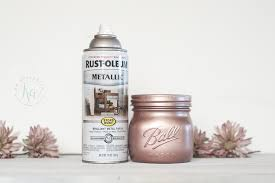 blush copper spray paint use as rose gold