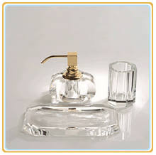 crystal bathroom accessories. March. Gold Bathroom Accessories Set Crystal Comb Dish Liquid Soap Dispenser .