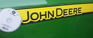 john deere tractor tech repair manual on cd image is loading john deere 5400 tractor tech repair manual on