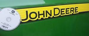 john deere 5400 tractor tech repair manual on cd image is loading john deere 5400 tractor tech repair manual on