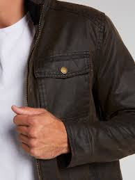 image for cameron coated jacket from just jeans