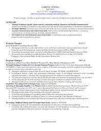 Perfect Assistant Project Manager Resume Personal Statement
