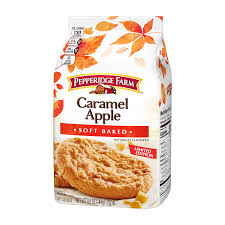 soft baked caramel apple pie cookies naturally flavored pepperidge farm